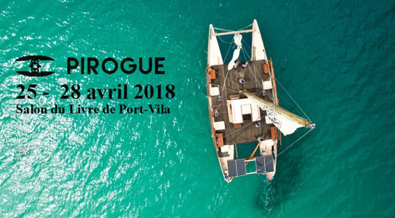 Pirogue salon du livre Port-Vila avril 2018.jpg
